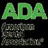 Green And Black American Dental Association Logo
