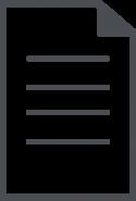 Dark Gray Document Icon
